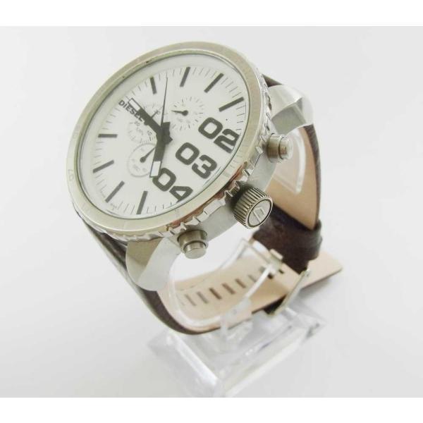時計 腕時計 バンド ベルト DIESEL ディーゼル ブラウン 28mm 26mm ディーゼル 時計部品 時計修理  メンズ バンド (バネ棒外し+バネ棒セット) 汎用バンド|brain-products|08