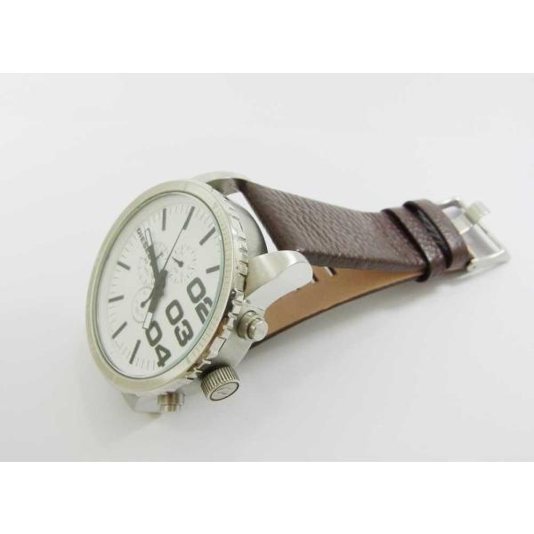 時計 腕時計 バンド ベルト DIESEL ディーゼル ブラウン 28mm 26mm ディーゼル 時計部品 時計修理  メンズ バンド (バネ棒外し+バネ棒セット) 汎用バンド|brain-products|09