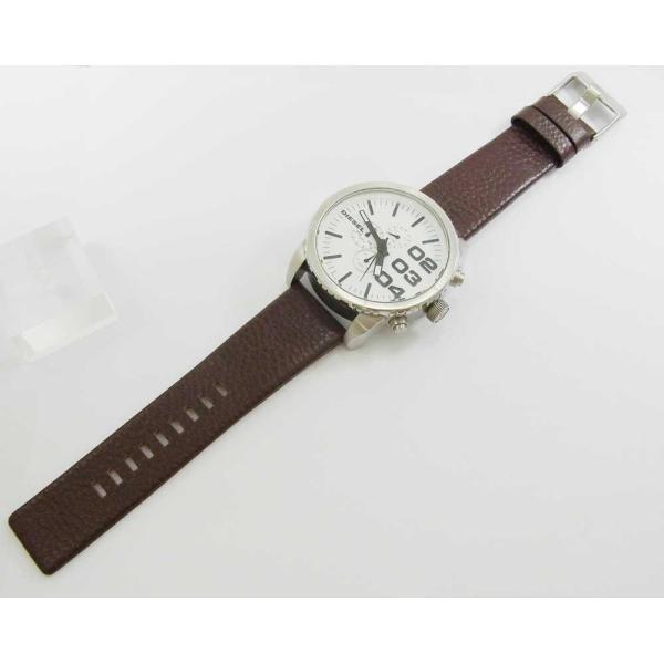 時計 腕時計 バンド ベルト DIESEL ディーゼル ブラウン 28mm 26mm ディーゼル 時計部品 時計修理  メンズ バンド (バネ棒外し+バネ棒セット) 汎用バンド|brain-products|10