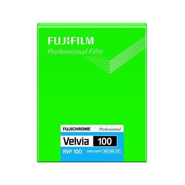 フジフイルム フジクローム ベルビア 100 4×5 20枚入の画像