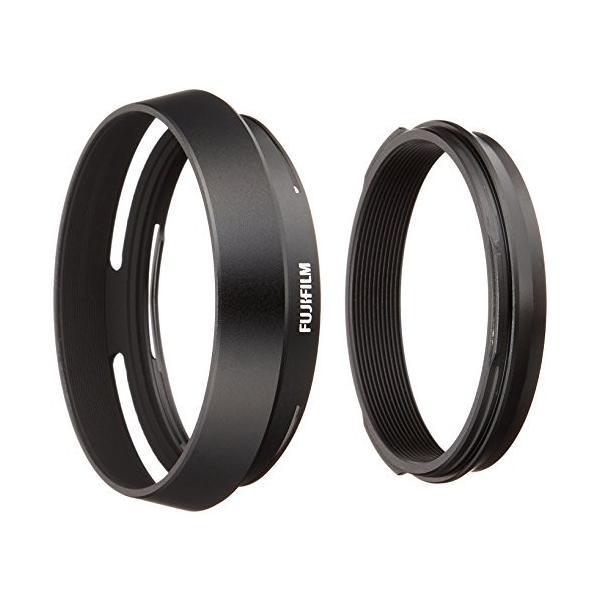 FUJIFILM X100シリーズ用レンズフード ブラック LH-X100 B|brainpower