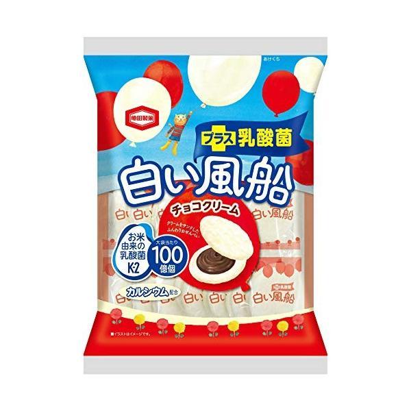 亀田製菓 白い風船チョコクリーム 18枚×12袋 brainpower
