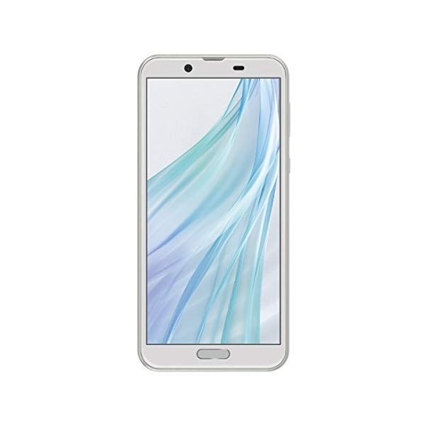 シャープ AQUOS sense2 SH-M08 ホワイトシルバー5.5インチ SIMフリースマートフォン[メモリ 3GB/ストレージ 32GB/IG|brainpower
