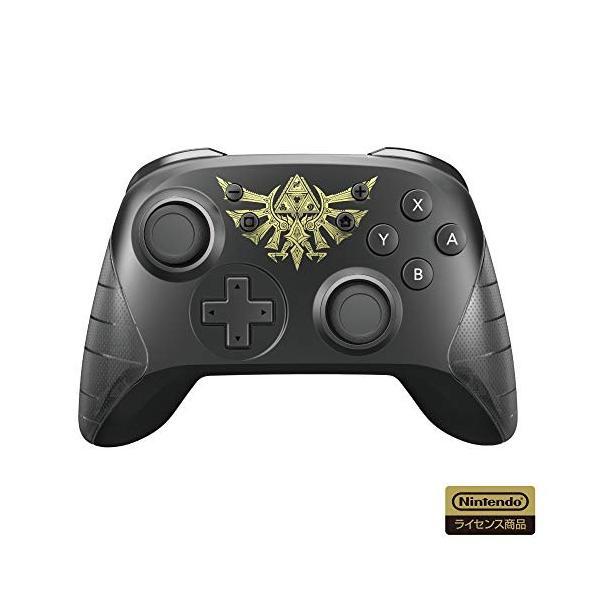 【任天堂ライセンス商品】ワイヤレスホリパッド for Nintendo Switch ゼルダの伝説【Nintendo Switch対応】|brainpower