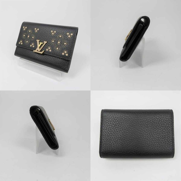 newest collection b7d10 2f8e5 ルイヴィトン LOUISVUITTON ポルトフォイユ N62564 カプシーヌ ...