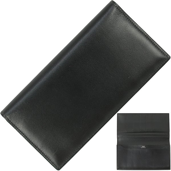 エルメス財布ドゴンロングトゴノワールh-j681