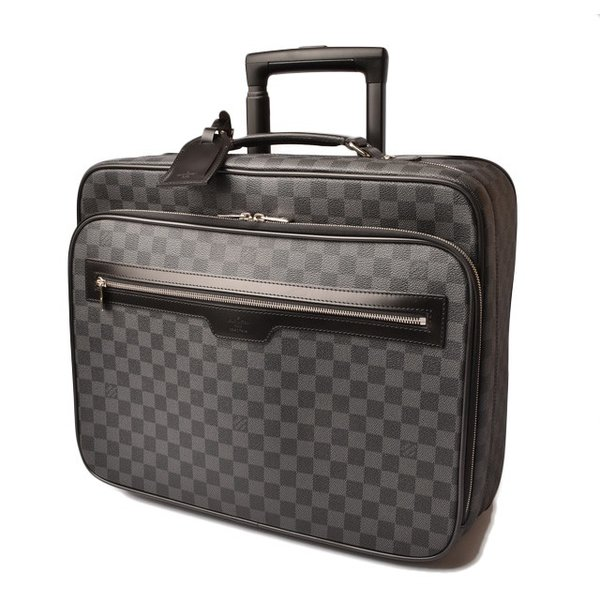 52d223d113 ルイヴィトン キャリーバッグ/旅行バッグ LOUIS VUITTON ダミエ・グラフィット パイロットケース N23206 ...