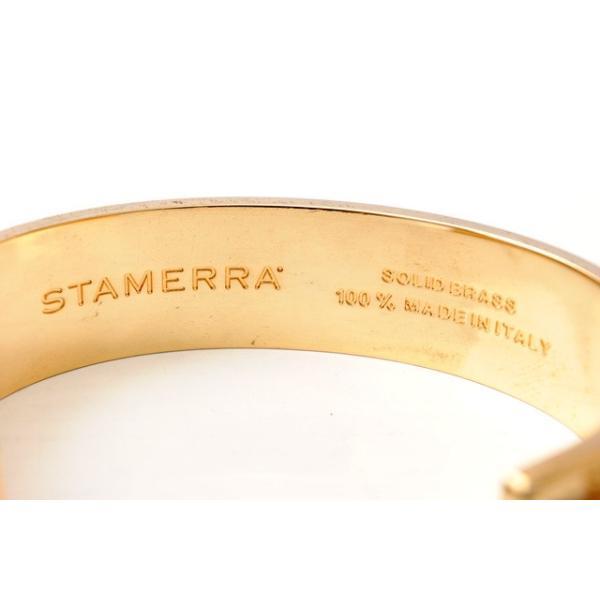スタメーラ バングル/ブレスレット STAMERRA バングル クロコダイル/ワニ ベージュ