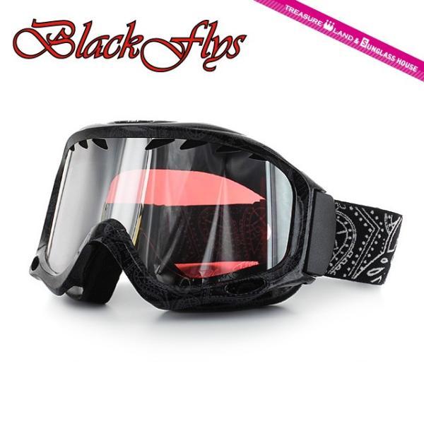ブラックフライ ゴーグル BLACKFLYS カオス CHAOS BF10-5102-PB80 Black Paisley/L.Pink Silver Mirror スキー スノーボード スノボ|brand-sunglasshouse