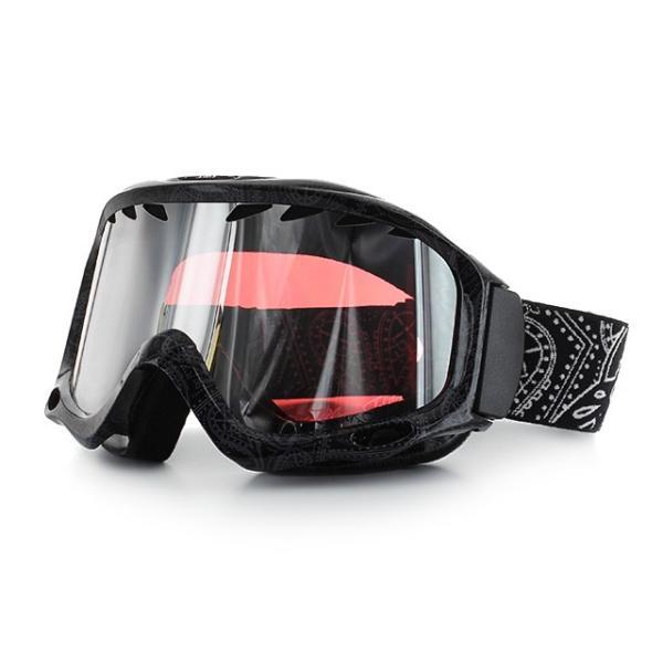 ブラックフライ ゴーグル BLACKFLYS カオス CHAOS BF10-5102-PB80 Black Paisley/L.Pink Silver Mirror スキー スノーボード スノボ|brand-sunglasshouse|02