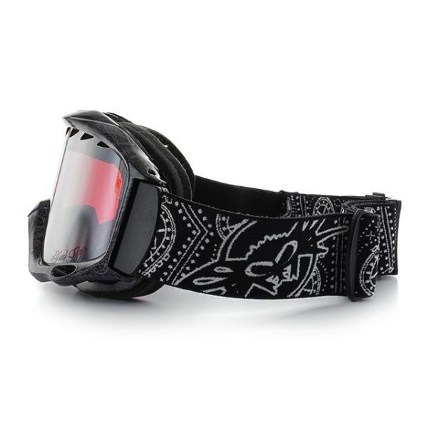 ブラックフライ ゴーグル BLACKFLYS カオス CHAOS BF10-5102-PB80 Black Paisley/L.Pink Silver Mirror スキー スノーボード スノボ|brand-sunglasshouse|04