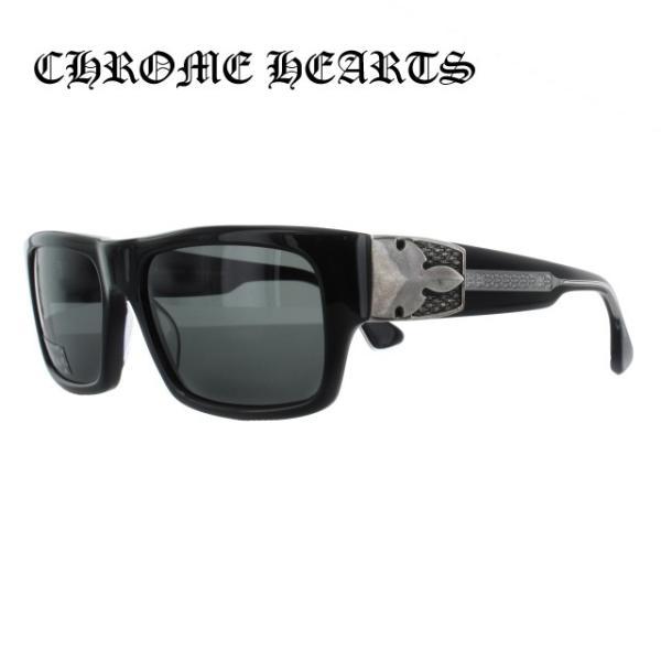 クロムハーツ CHROME HEARTS サングラス G-MONEY I 56 ブラック レギュラーフィット メンズ レディース|brand-sunglasshouse