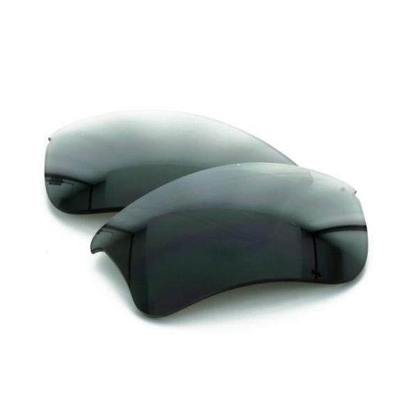 オークリー サングラス専用 交換レンズ OAKLEY フラックジャケットXLJ LEGZA製 S2 K12(偏光) FLAK JACKET XLJ ダークグレー|brand-sunglasshouse|02