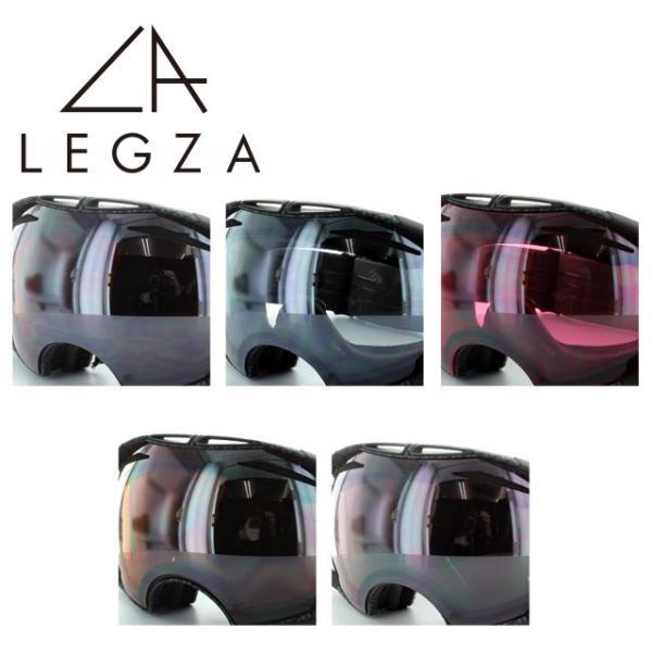 オークリー ゴーグル専用 交換レンズ OAKLEY エアブレイク S3 LEGZA製 AIRBRAKE ダブルレンズ 曇り止め アジアンフィット レギュラーフィット|brand-sunglasshouse