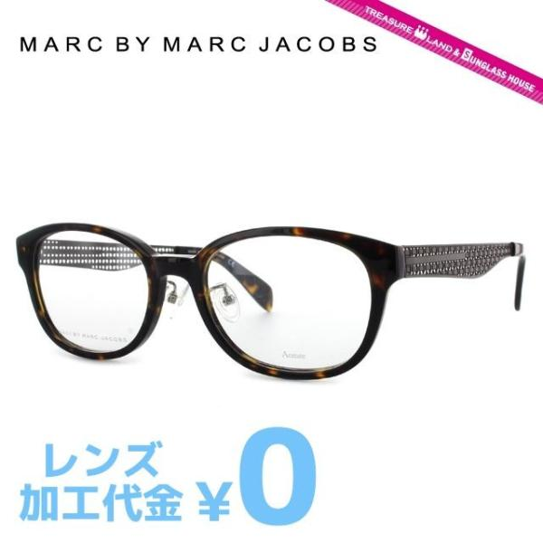 マークバイマークジェイコブス MARC BY MARC JACOBS 伊達 度付き メガネ 眼鏡 MMJ621F LKI 53 ダークハバナ アジアンフィット メンズ レディース 国内正規品|brand-sunglasshouse