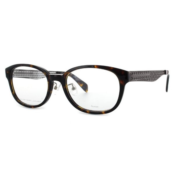 マークバイマークジェイコブス MARC BY MARC JACOBS 伊達 度付き メガネ 眼鏡 MMJ621F LKI 53 ダークハバナ アジアンフィット メンズ レディース 国内正規品|brand-sunglasshouse|02