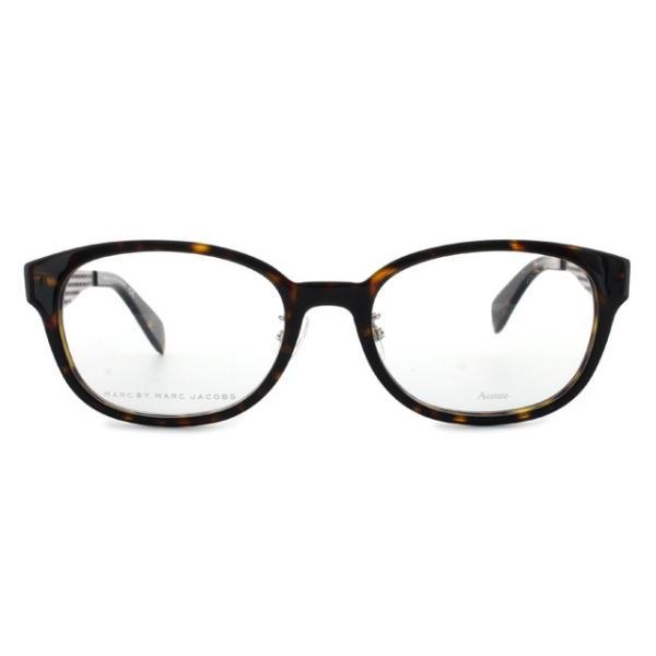 マークバイマークジェイコブス MARC BY MARC JACOBS 伊達 度付き メガネ 眼鏡 MMJ621F LKI 53 ダークハバナ アジアンフィット メンズ レディース 国内正規品|brand-sunglasshouse|03