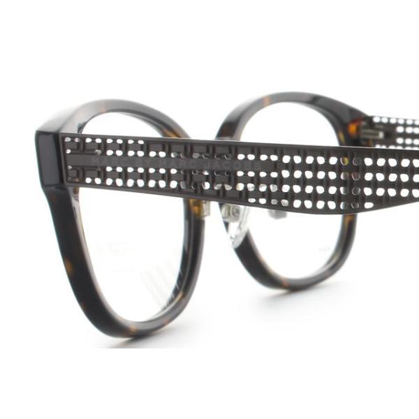 マークバイマークジェイコブス MARC BY MARC JACOBS 伊達 度付き メガネ 眼鏡 MMJ621F LKI 53 ダークハバナ アジアンフィット メンズ レディース 国内正規品|brand-sunglasshouse|05