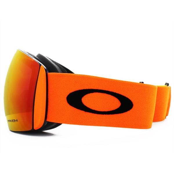 オークリー ゴーグル 限定モデル フライトデッキ プリズム ミラー アジアンフィット OAKLEY FLIGHT DECK OO7074-29 メガネ対応|brand-sunglasshouse|04