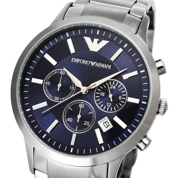 90293404ec エンポリオアルマーニ 腕時計 EMPORIO ARMANI Classic Collection Chronograph クラシックコレクションクロノグラフ  AR2448 クォーツ|brand ...
