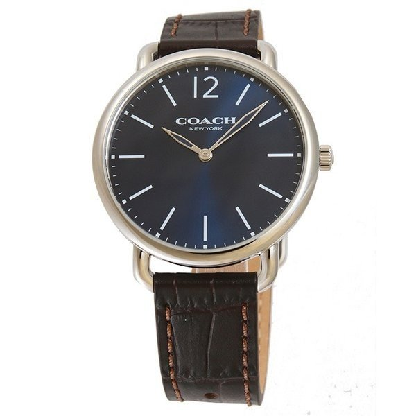 f6169de7208f COACH コーチ デランシースリム 腕時計 14602142 メンズ 送料無料の画像