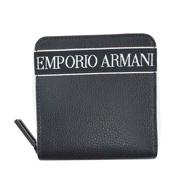 EMPORIOARMANIエンポリオアルマーニ2つ折小銭付き財布メンズ財布Y4R305/80033ラッピングCHNAV1042