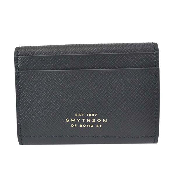 SMYTHSONスマイソン3つ折小銭付き財布メンズ財布1026329/NAVYラッピングCHNAV1042