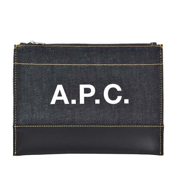 A.P.C.アーペーセーポーチメンズバッグM63380/IAKラッピングCHNAV1042