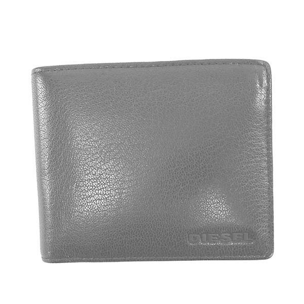 DIESELディーゼル2つ折小銭付き財布メンズ財布X06757/H7580ラッピングCHNAV1042