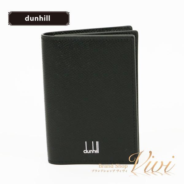 dunhillダンヒル名刺入れメンズファッション小物DU18F2470CA001/BlackTCLD-MI
