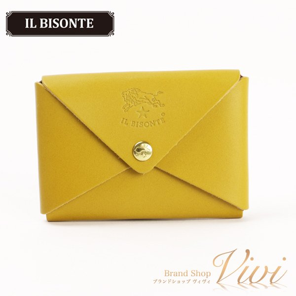 ILBISONTEイルビゾンテカードケースレディースファッション小物C0854EP/1058TCLD-MI