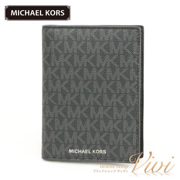 MICHAELKORSマイケルコースカードケースメンズファッション小物36F9LGFV5B/BLACKTCLD-MI