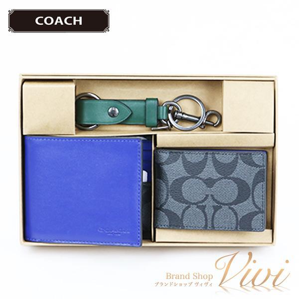 COACHコーチ二つ折り財布メンズ財布C1600/QBS4YTCLD-MI