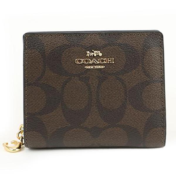 COACHコーチ二つ折り財布レディース財布C3309/IMAA8TCLD1043
