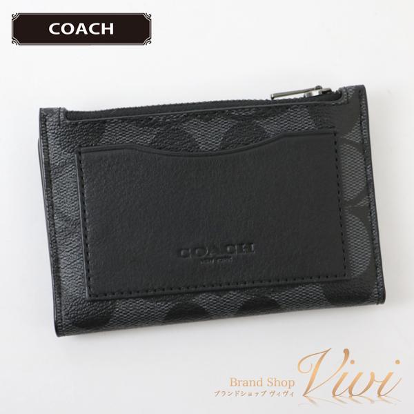 COACHコーチ小銭入れメンズ財布F78673/QBO4GラッピングTCLD1123