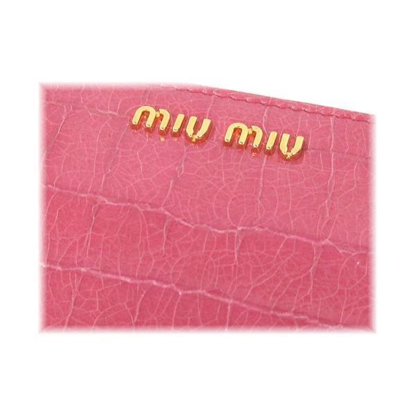 uk availability bc548 f6ab0 ミュウミュウ miumiu 財布 サイフ さいふ MIUMIU 財布 新作 L字 ...