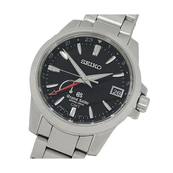 【値下げ交渉歓迎!】グランドセイコー GRAND SEIKO 時計 GS 9R66-0AE0 SBGE013 スプリングドライブ GMT パワーリザーブ 自動巻き AT デイト メンズ