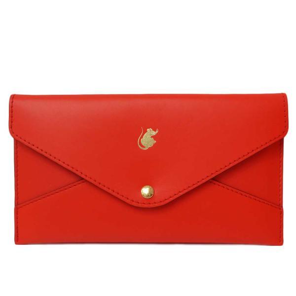 (新品・未使用品)ルイ・ヴィトンポシェット・キリガミねずみ子レッド赤ノベルティ2020年ポチ袋10枚