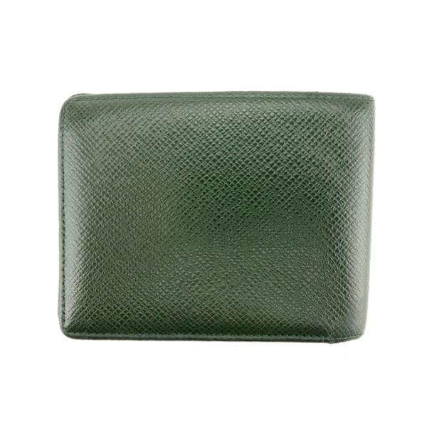 ルイ ヴィトン Louis Vuitton 二つ折り 札入れ メンズ ポルトビエ6カルトクレディ M30484 タイガ 中古
