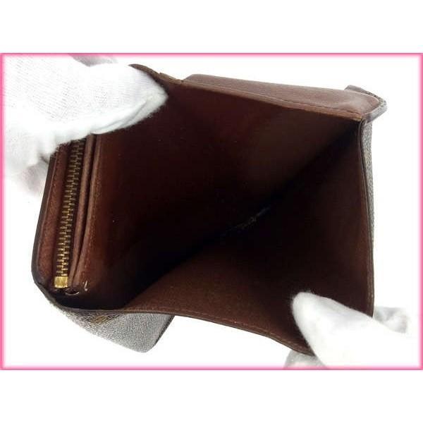 ルイヴィトン Louis Vuitton 財布 がま口財布 モノグラム ポルトモネ ビエヴィエノワ レディース 中古|branddepot-tokyo|05