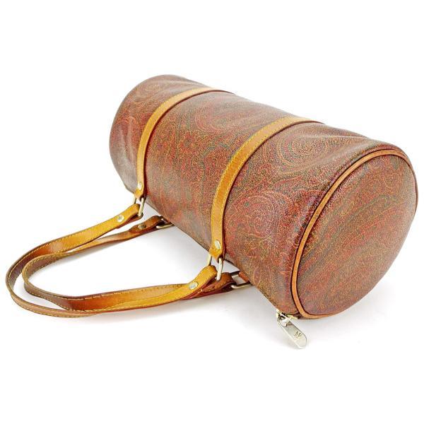 エトロ Etro バッグ ハンドバッグ ペイズリー ブラウン系 ベージュ ゴールド レディース メンズ  Bag
