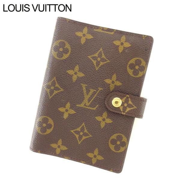 best sneakers 773eb 09288 ルイ ヴィトン Louis Vuitton 手帳カバー システム手帳 レディース メンズ アジェンダPM R20005 モノグラム 中古