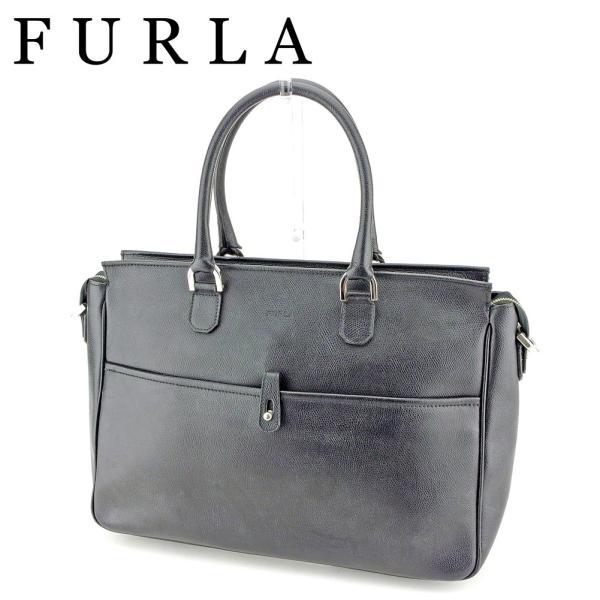 フルラ FURLA ビジネスバッグ トートバッグ ハンドバッグ レディース メンズ ロゴ  人気 良品 P851