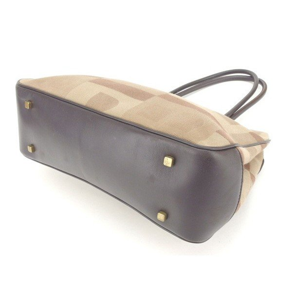バリー Bally バッグ ショルダーバッグ Bモチーフ ベージュ ブラウン レディース 中古 Bag