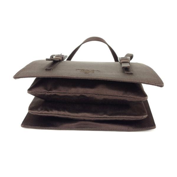プラダ PRADA ハンドバッグ パーティーバッグ レディース イブニングバッグ B6721 シルクサテン