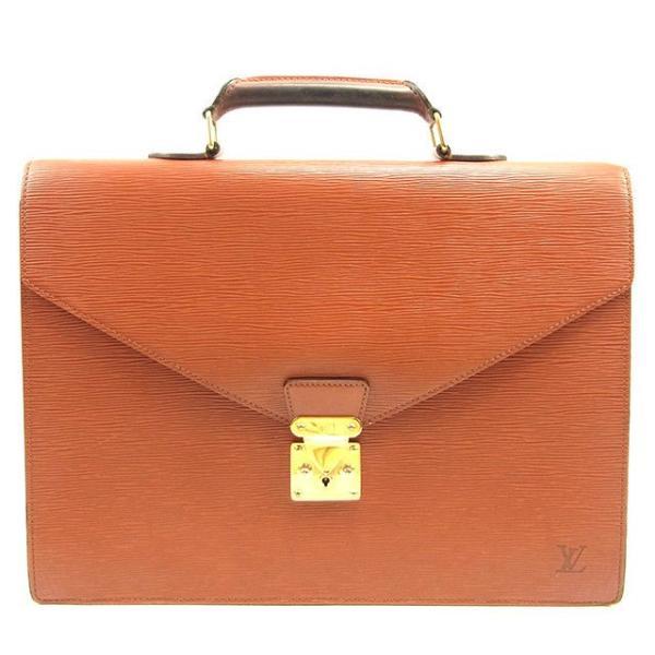 ルイヴィトン Louis Vuitton バッグ ビジネスバッグ エピ コンセイエ ケニアブラウン レディース メンズ 中古 Bag