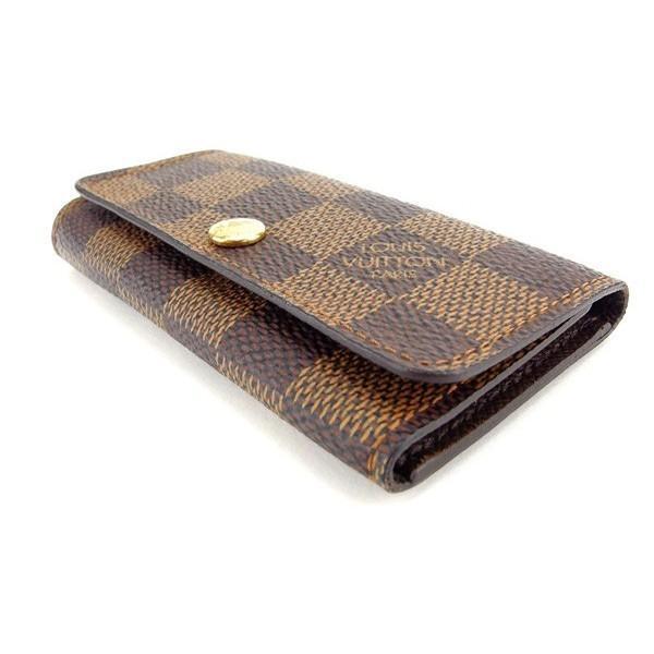 ルイヴィトン Louis Vuitton キーケース レディース ミュルティクレ4 N62631 ダミエ|branddepot-tokyo|03