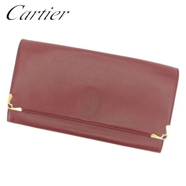 カルティエ Cartier クラッチバッグ セカンドバッグ レディース メンズ 可 マストライン