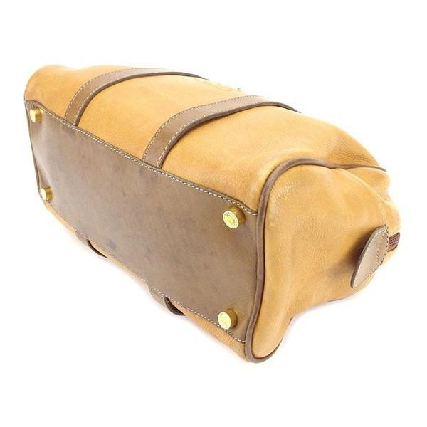 ロエベ Loewe バッグ ハンドバッグ アナグラム ベージュ ブラウン系 レディース メンズ  Bag