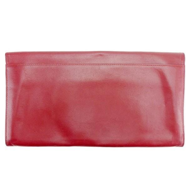 カルティエ Cartier バッグ クラッチバッグ マストライン ボルドー ゴールド レディース メンズ 中古 Bag